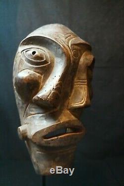 141# Early To Mid 20th Century GREENLANDIC Ammassalimiut SHAMAN Mask INUIT