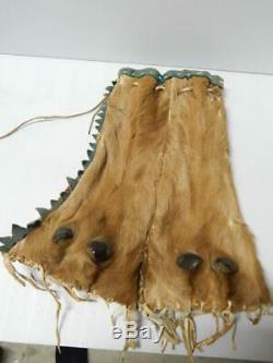 19th Century N. Plains Blackfeet (pikuni) Indian Elk Bag / Pouch Early Piece