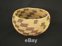 A large, early Maidu Basket, Native American Indian, Circa 1910
