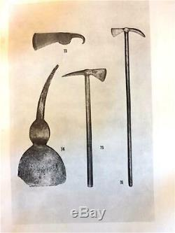 AUTHENTIC Ca. 1750 NATIVE AMERICAN FINE POLL TOMAHAWK/ EARLY HAFT. RARE STYLE