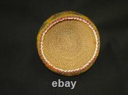 An Early Paiute Beaded Degikup-shaped, Native American Indian basket, c. 1930