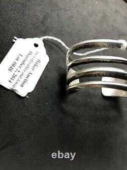 Charles Loloma Early Sterling Silver Bracelet Native American Indian Hopi