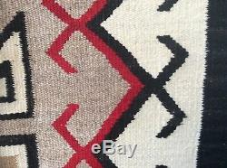 Crystal Navajo Rug Blanket Native American Old Early