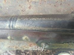 Early 1800's Chief Grade Native American Brass Tacked Trade Gun Thunderstick