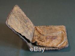 Early 1900 Native American Plateau Umatilla Yakima Beaded Wallet