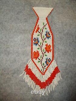 Early 1900's Nez Perce Beaded Tie