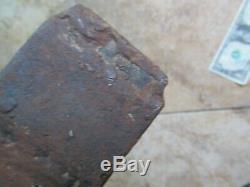 Early Antique Colonial Trade Ax, BLACKSMITH, Native American, Revolutionary War
