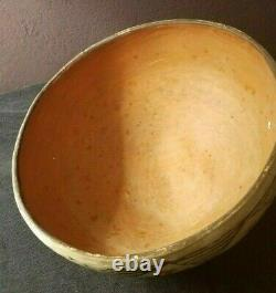 Early Isleta Pueblo Pottery Bowl Whirling Logs Native American Indian