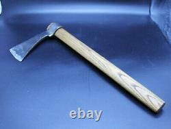 Early Native American Indian 14 Trade Tomahawk Hand Forged Iron Head