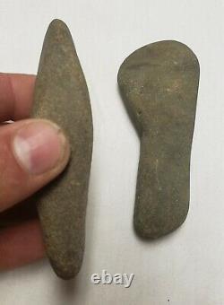 Early native American stone artifacts axes tomahawk plow Pennsylvania
