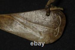 Game Reindeer Bone Metis Canada Early 20th C. Native American