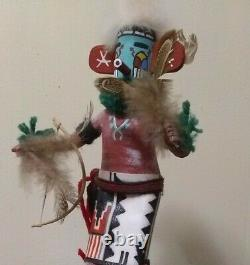 Hopi Kachina Doll Early Morning Singer Native American Indian Cottonwood Carving