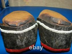 Iroquois Moccasins Early and Beaded