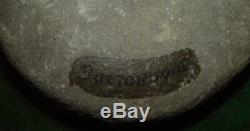 Native American Indian Discoidal Chunkey Stone or Other found BUTTONWOOD, PA