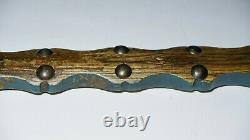 Native American Platform Catlinite Pipe with Stem Sioux Lakota early 20th C