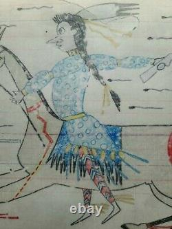 ORIGINAL LEDGER DRAWING. Early 1900s