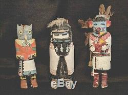 RARE Early ANTIQUE Native AMERICAN Hopi ALO MANA Collectible KACHINA Doll