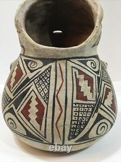 Rare Antique Native American Casas. Grandes Pottery Figural Pitcher Early 1900s