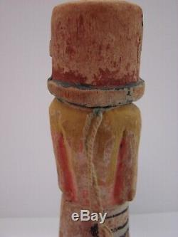 Stunning Late 19th / Early 20th Century Hopi Kachina Polychrome Pigments Antique