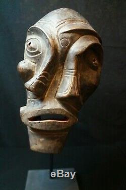 141 # Début Au Milieu Du 20e Siècle Groenlandaise Ammassalimiut Shaman Masque Inuit
