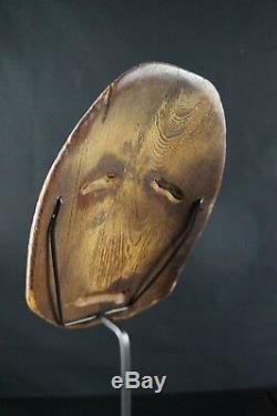 58 # Début Du 20e Siècle Masque Canadien Autochtone Nunavut Antique Inuit