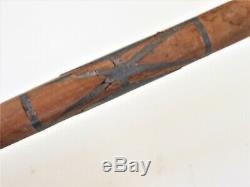 Antique Catlinite Tuyau Avec Inlay Plomb Stem Précoce Tuyau Et Century Stem-3q19th