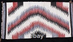 Au Début Navajo Yeux Dazzler Tissés À La Main De Tissage De Tapis, 36x29. Monnaie, Superbe