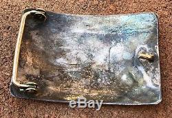 Au Début Old Hopi En Argent Sterling Overlay Hopicraft Conception Tribale Boucle De Ceinture