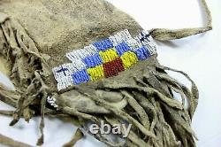 Début Des Années 1900 Native American Indian Cheyenne Tribe Beaded Arrow Quiver