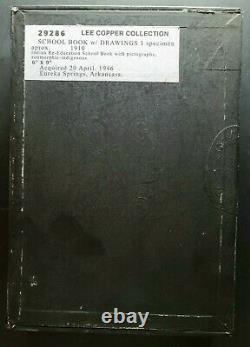 Drawin De L'école Indienne Original Dans Le Livre Grammer. Fin Des Années 1800 Début Des Années 1900