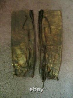 Early S. Plains Buffalo Hide Men's Leggings Leggins Amérindiens Amérindiens Anciens Indiens