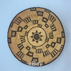 Excellente Tôt Yavapai Amérindien Ou Apache Panier Circa 1900