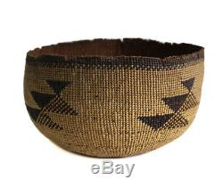 Hupa Karok Karuk Yurok Panier Hat, Early Northwest / Californie Amérindien