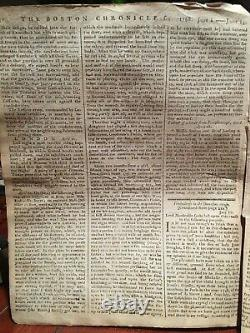 Journal 1768 Boston Mohawk Cherokee Native American Early Us