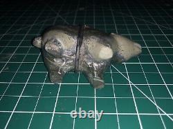 Les Premiers Zunis Ont Sculpté L'ours Sérépentin Fetish Par Leekya Deyuse (d.) Amérindienne