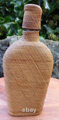 Native American Makahs Bouteille D'alcool Emballé Début Du 20e Siècle