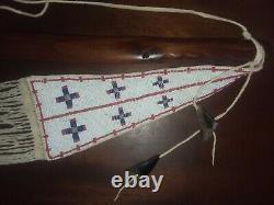 Native American Type Espèce Tomahawk Tôt Pour Mid1800's Wrought-iron Blade