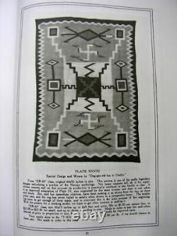 Navajo Crystal Storm Rug, J. B. Moore, Début Des Années 1900. Très Bon État