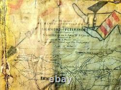 Original Ledger Dessins Sur Les Anciennes Pages De Livres De Cartes De Guerre Civile. Vers Les Années 1900