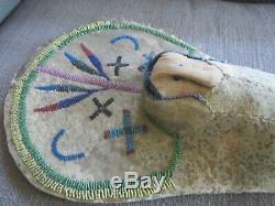 Rare Early Doll Amérindien Avec Cradleboardbook Piecemuseum Qualité