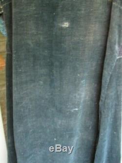 Rare Robe De Amérindien Corbeau Femme Fin Du 19ème / Début Du 20e Siècle