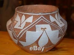 Superbe Début / MI 1900 Handcoiled Old Acoma Pueblo Olla! Livraison Gratuite