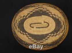 Un Finement Tissé Début Pomo Panier-cadeau, Amérindien, Vers 1900