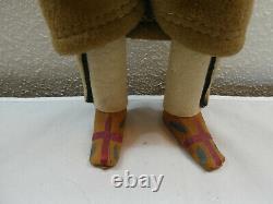 Vintage 15.5 Début Des Années 1940 Skookum Bully Good Native American Doll