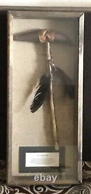 Vintage Antique Early Native Americans Tip War Club Axebattle Hunting Weapon Old