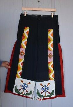 Vintage Primeur Amérindien Pantalons Pour Hommes Travail Sur Le Vêtement De Commerce